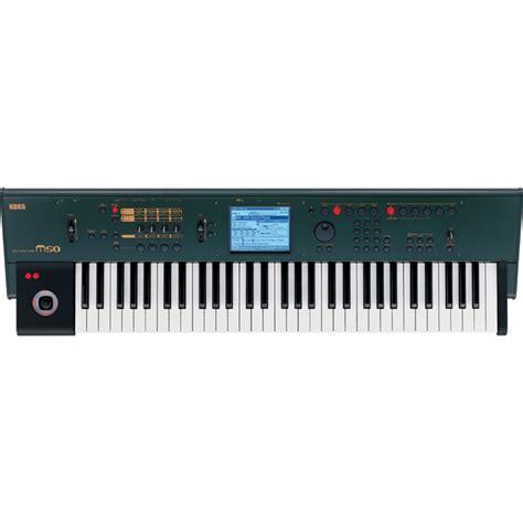 Keyboard Korg Di Medan korg m50 61 key workstation ltd edition green a