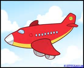 how to draw a plane for kids step by step airplanes