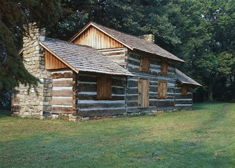 Cabins In Charleston Wv by The Still Standing Joseph Ruffner Cabin Now In Daniel
