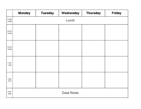 5 Day Work Week Calendar Template by Free 6 Day Work Week Schedule Template New Calendar