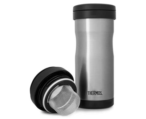 Shuma S S Vacuum Tumbler 350 Ml 0 35 Liter thermos 350ml vacuum insulated stainless steel tea tumbler w infuser great daily deals at