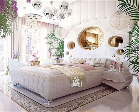 unique bedroom showcase