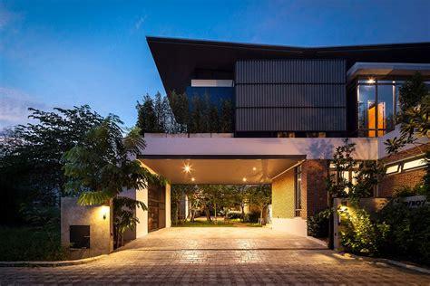industrial  modern side  side  houses  bangkok