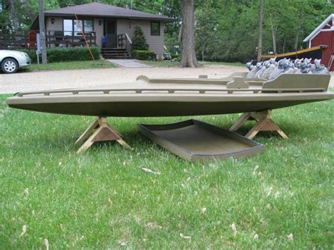 duck hunting boats canada 19 best images about one man boat idea on pinterest