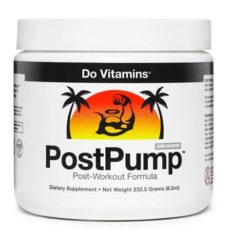 8 creatine clear do vitamins postpump clean post workout