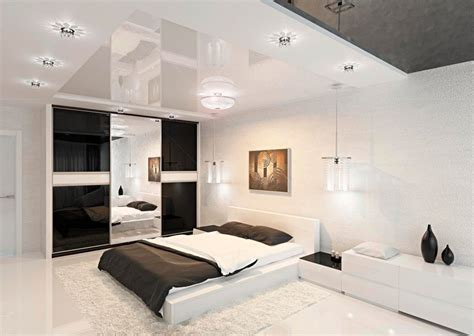 Modern Black And White Bedroom Interior Design Ideas Modern Bedroom Interior Design