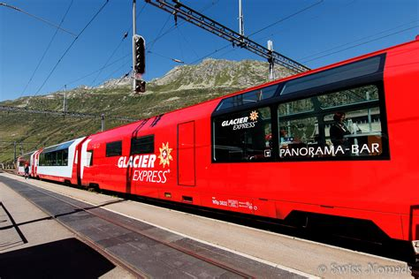 amazing ride on the glacier express through the
