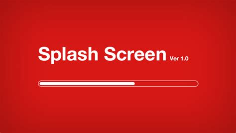 ios splash screen template psd splash screen freebies gallery