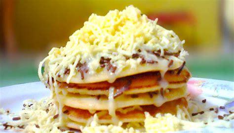 cara membuat pancake isi mangga cara membuat pancake coklat keju nikmat dan lezat resep