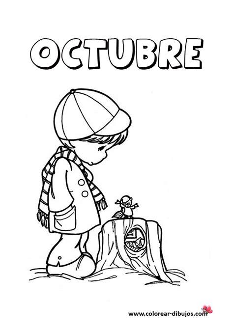 imagenes octubre negro dibujos de los meses del a 241 o con preciosos momentos para