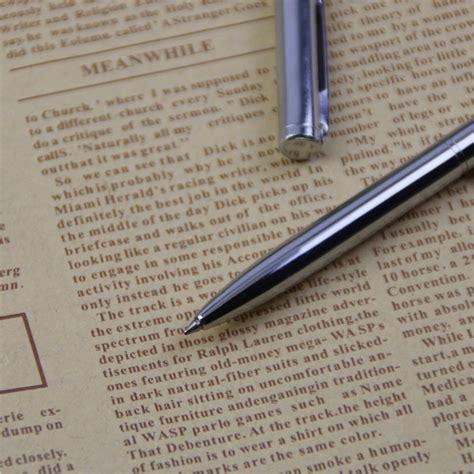 Dijamin Pena Ballpoint Metal pena ballpoint metal silver jakartanotebook
