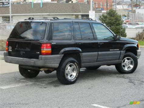 1996 Jeep Grand Limited Black 1996 Jeep Grand Laredo 4x4 Exterior Photo
