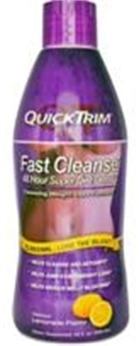 Quicktrim Fast Cleanse 48 Hour Diet Detox 480ml Review by Quicktrim Fast Cleanse Quicktrim