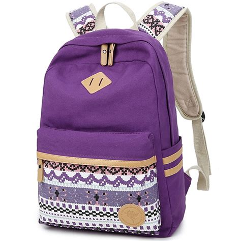 7 Fashionable Bags For School by Get Cheap Purple School Bags Aliexpress