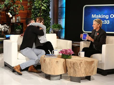 kissenhã llen shop max greenfield and sally field on degeneres show