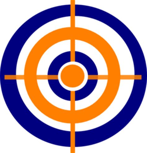 Clip On L Target by Target Clipart Clipart Best
