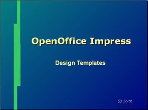 Apply Slide Design Templates In Open Office Impress Open Office Templates Presentation