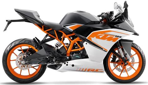 Ktm Dirt Bikes Price In India Ktm Rc 125 2017 Specifications Price In India