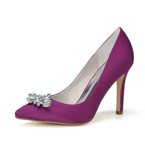 High Heel Purple Shoes   Is Heel