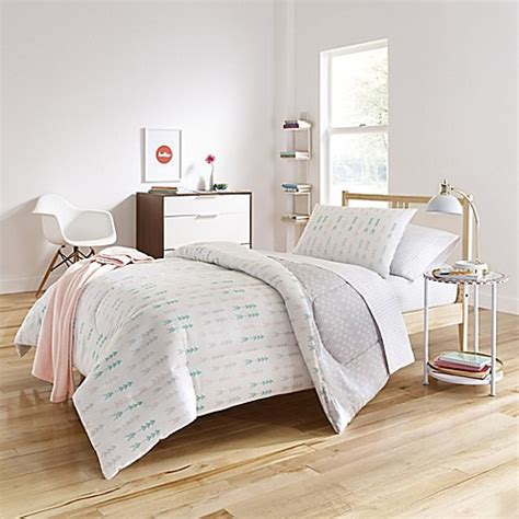 bed bath and beyond white comforter melina reversible comforter set in white grey bed bath