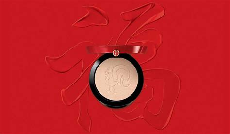 armani makeup new year giorgio armani year rooster palette news