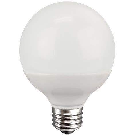 Globe Led Light Bulbs Led G25 Globe Frosted Tcp Led8g25d30kf