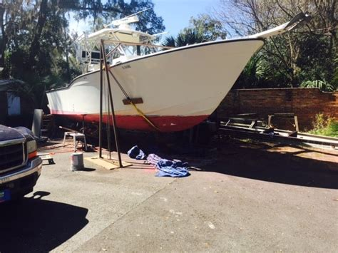 boat has bottom paint bottom paint removal to interlux performance 32 cc the