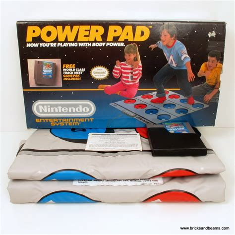 Nintendo Power Mat by Nes Nintendo Power Pad Set Complete W Box Pad Works Great