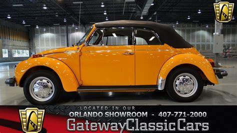 volkswagen beetle convertible gateway classic cars orlando  youtube
