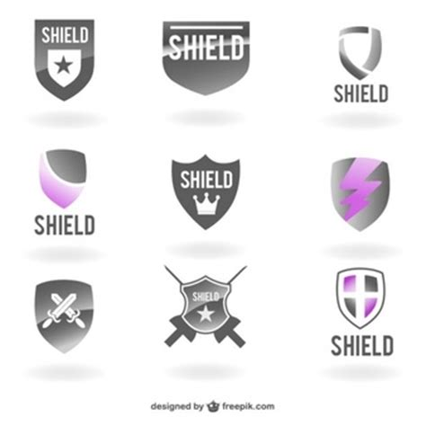 shield psd template crest vectors photos and psd files free