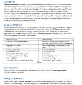 It Security Policy Template by Pci Compliance Guide Pci Dss Compliance Pci Compliance