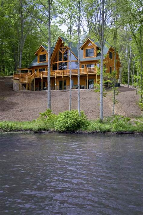 Lakeside Cabins by Against All Odds Planning A Lakeside Cabin