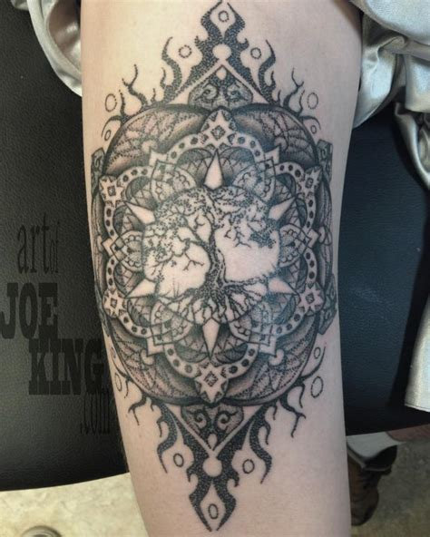 tattoo mandala tree off the map tattoo