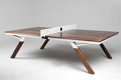 Wood Ping Pong Table by Woolsey Ping Pong Tabledaan