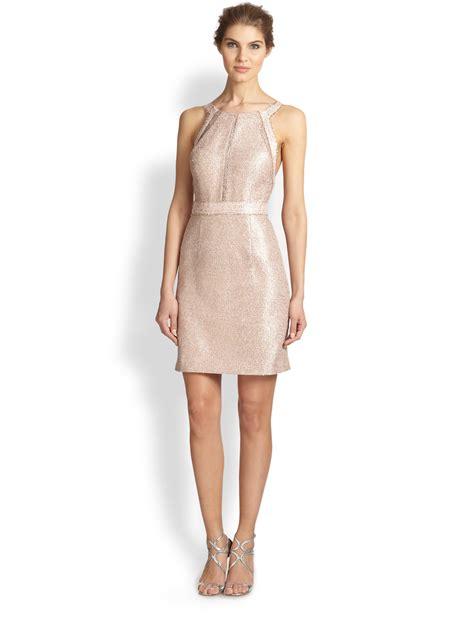 light pink metallic dress metallic pink dress great ideas for fashion dresses 2017
