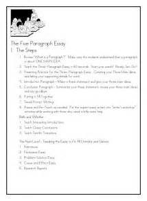 Five Paragraph Essay by Of Many Create Better Writers
