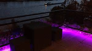 led le außen chestha terrasse design beleuchtung