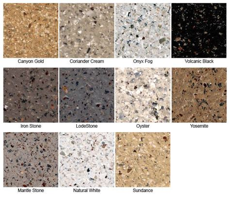 Beauti Tone Countertop Refinishing Kit Colors by Daich Spreadstone Mineral Select Countertop Kit