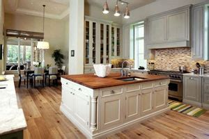 Engrain Wood Countertops by Kitchens Get A Makeover
