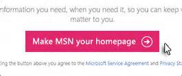 Make msn my homepage get news entertainment sports weather