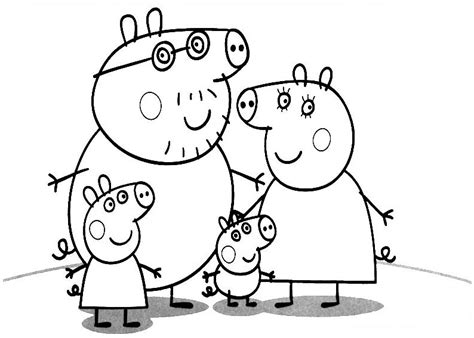 peppa pig valentines coloring pages peppa pig coloring pages bestofcoloring com