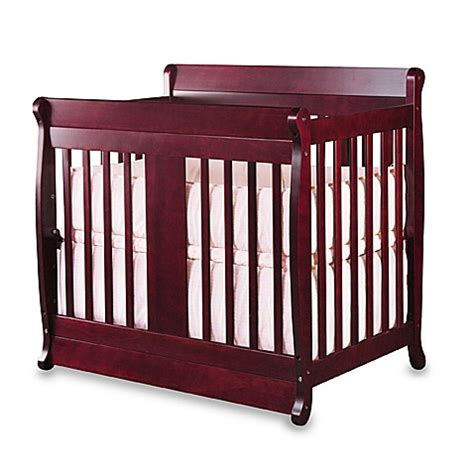 Mini Cribs For Sale Nursery Smart 174 Chelsea Convertible Mini Crib Cherry Bed Bath Beyond