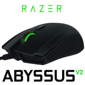 Razer Abyssus V2 Three Color Gaming Mouse Original Garansi Resmi razer abyssus v2 optical gaming mouse ambidextrous form factor true 5 000 dpi optical sensor