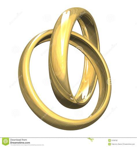 Hochzeitsringe Gold by Hochzeitsringe Im Gold 3d Stockfotografie Bild 3138792