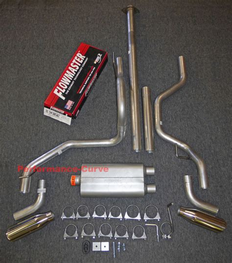 ford   dual exhaust kit  flowmaster