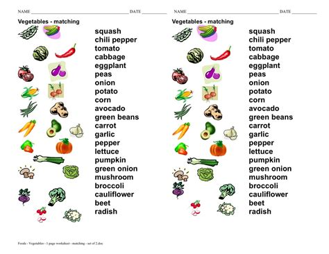 vegetables names vegetables esl with miriam