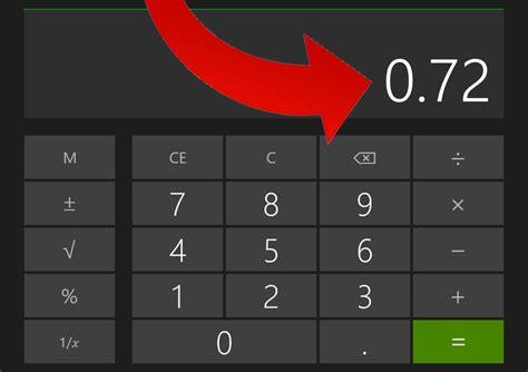 calculator decimal how to convert a percentage to decimal form with a calculator