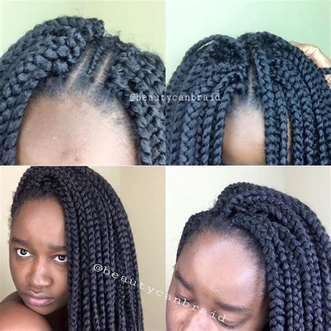 how many bags of hair to get for big box braids crochet hair packages creatys for
