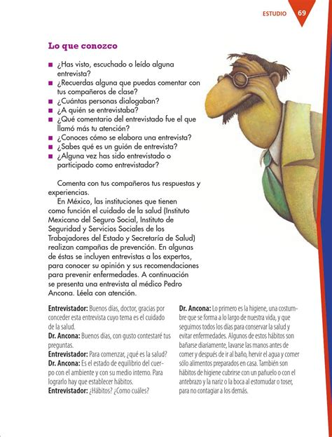 preguntas de entrevista a un doctor espa 241 ol 4o grado by rar 225 muri issuu