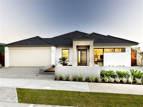 photo of a concrete house exterior from real australian